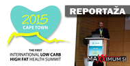 Prva mednarodna Low-Carb, High-Fat konferenca The Old Mutual Health Conference