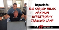 The Sarcev Milos Maximum Hypertrophy Training Camp - reportaža